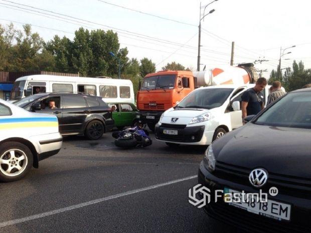 пробки в Днепропетровске