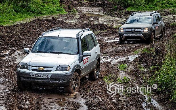 ТОП-10 мощных машин для езды по весенней грязи