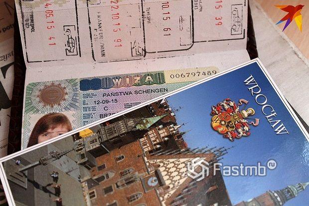 Бумаги для пассажиров при поездке на автомобиле в Польшу
