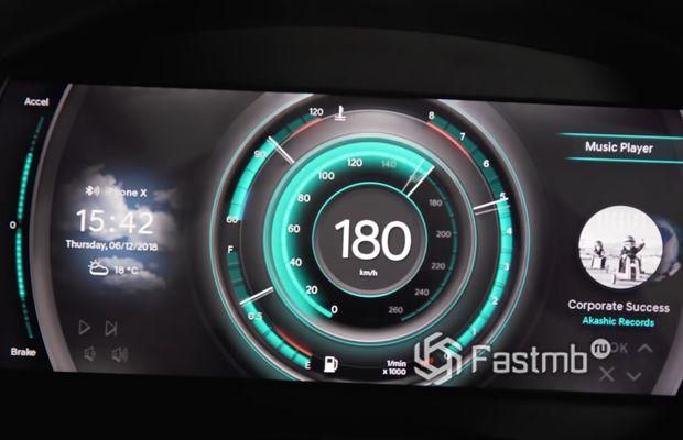 3D панель приборов от Hyundai