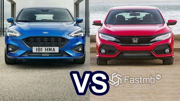Honda Civic против Ford Focus — что лучше?