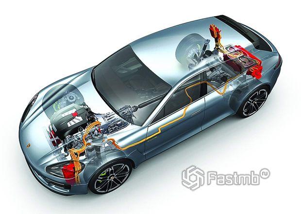 Система рекуперативного торможения автомобиля