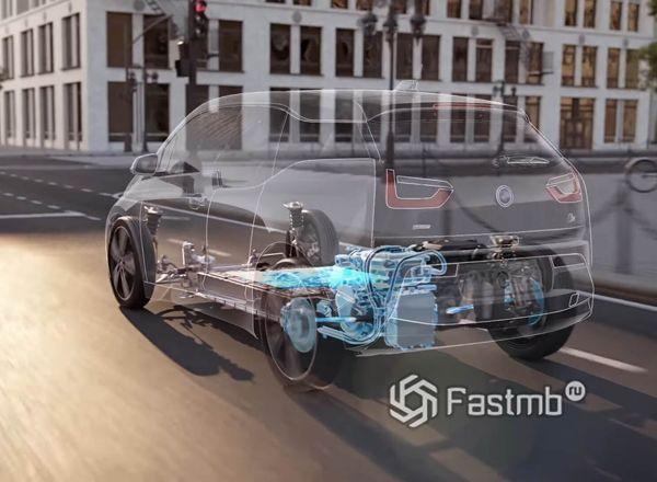 Рекуперативная система торможения на BMW i3