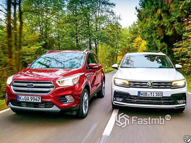 Ford Kuga против VW Tiguan — что лучше?