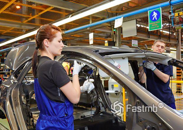 Сборка автомобилей Форд в России
