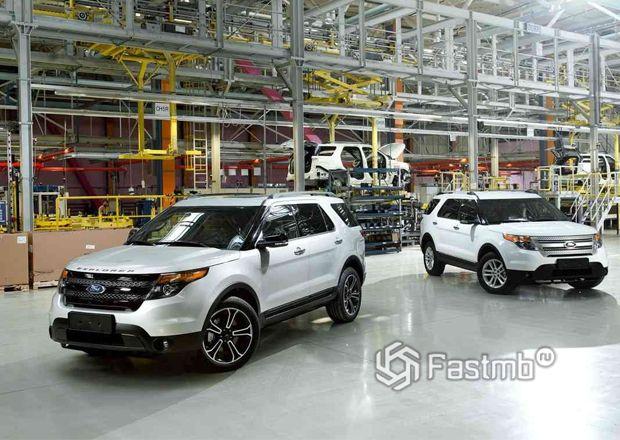 Сборка Форд Explorer в России