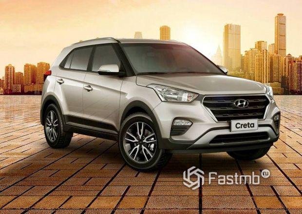 Кроссвоер Hyundai Creta 2018