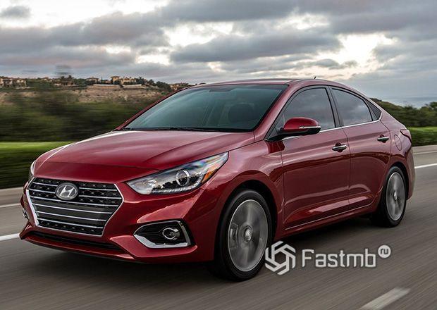 Седан Hyundai Solaris 2018
