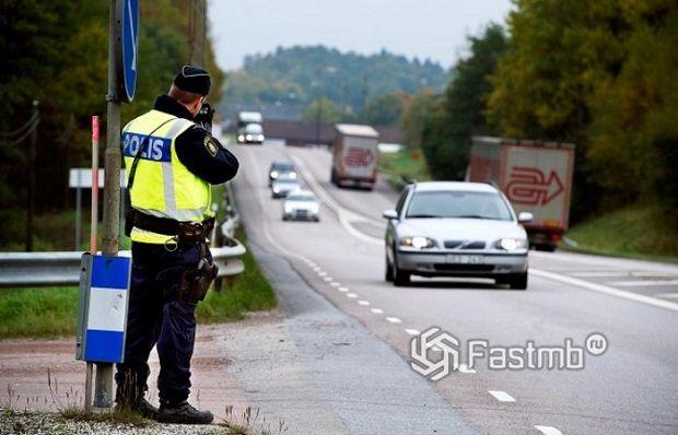 Правила дорожного движения в Скандинавии
