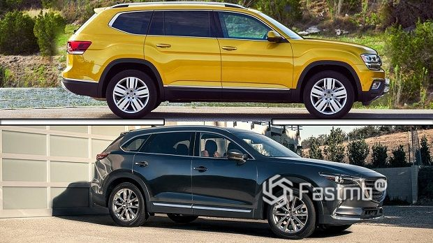 VW Teramont и Mazda CX-9 — что лучше?