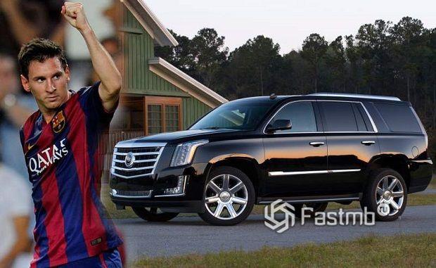 Автомобили Леонеля Месси: Cadillac Escalade