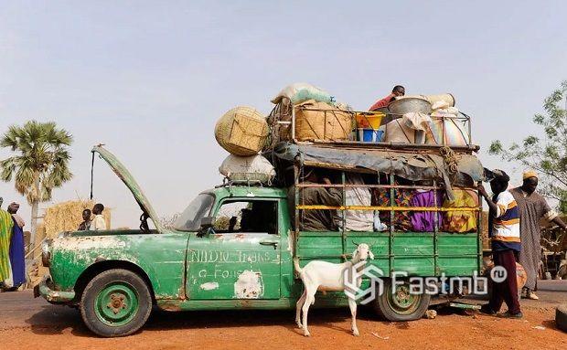 Экзотические автомобили из Африки