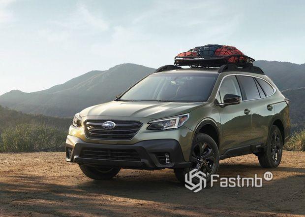 Новый Subaru Outback 2020