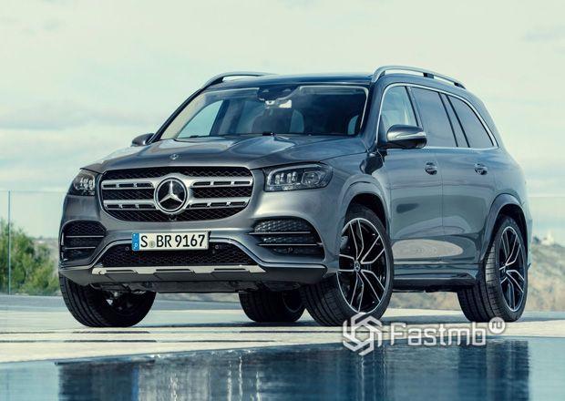 Новый Mercedes-Benz GLS 2020