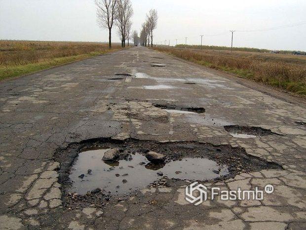 Румыния: плохие дороги