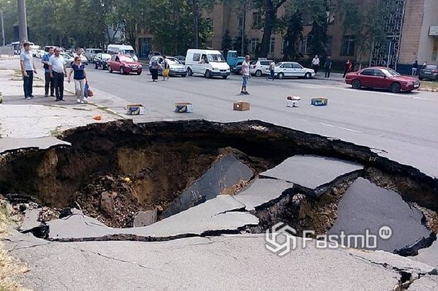 Молдова: плохие дороги
