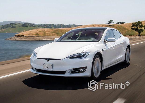 Обновленная Tesla Model S 2019