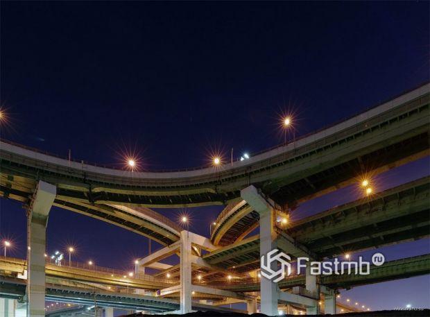многоярусные автострады Японии