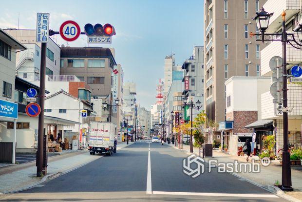 Как делают дороги в Японии