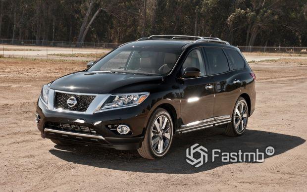 экстерьер Nissan Pathfinder