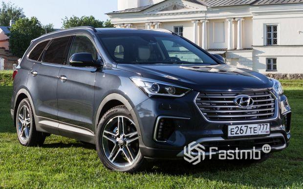 экстерьер Hyundai Santa Fe