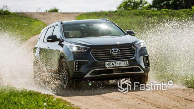 ездовые качества Hyundai Santa Fe