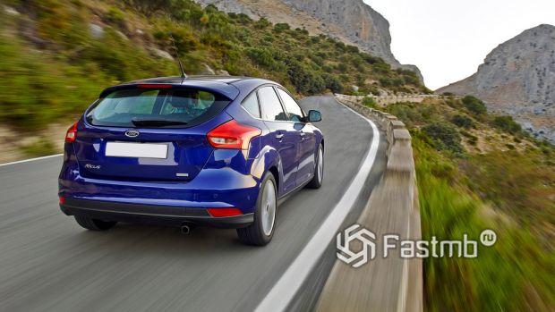 Ford Focus в пути