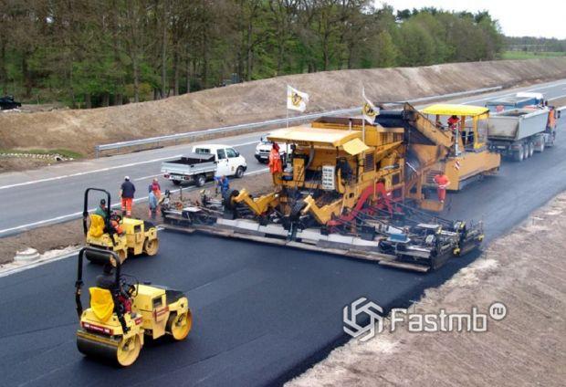 современное строительство автобана в Германии
