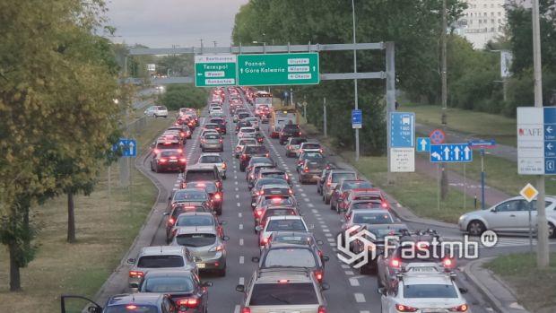 пробки в Польше