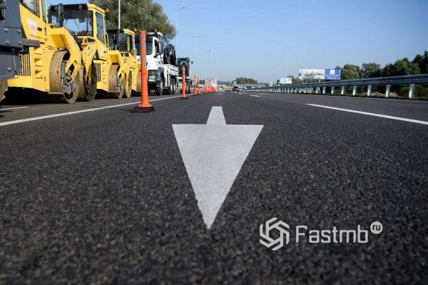 Ремонт дорог в Польше