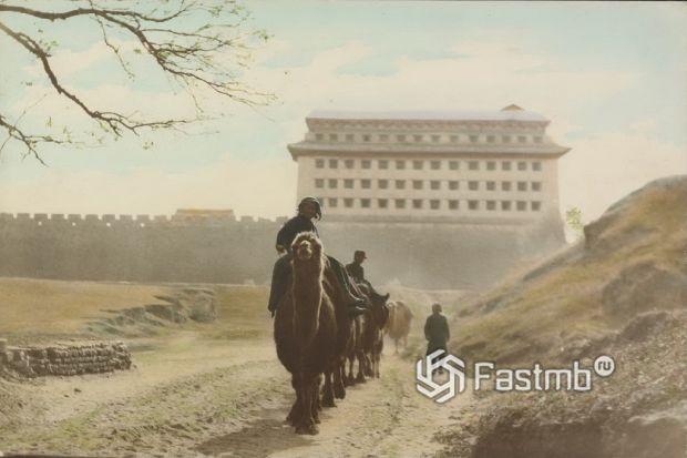 дорога в Китае в 30-е годы