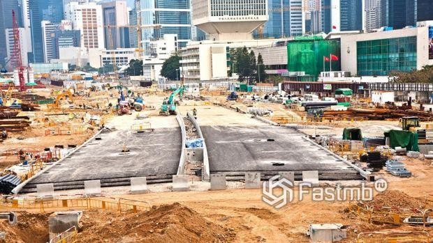 современное строительство дороги в Китае