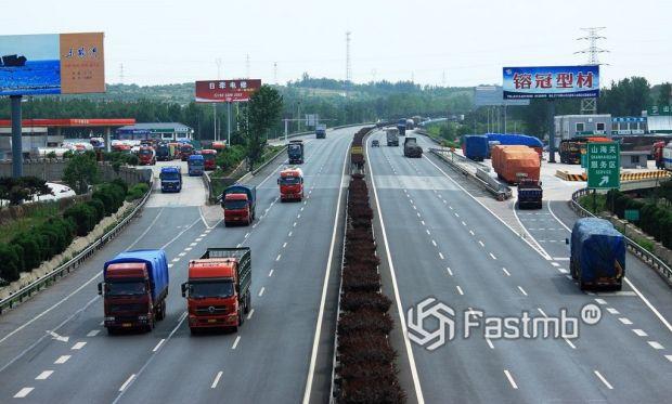 Как организовано движение на автомобильных дорогах в Китае
