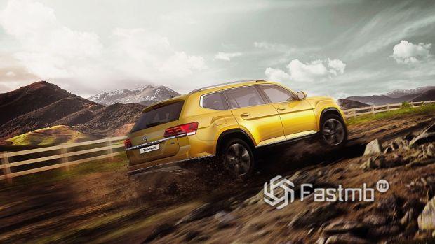 ездовые качества VW Teramont