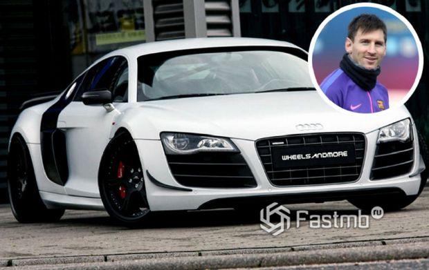 Автомобили Леонеля Месси: Audi R8