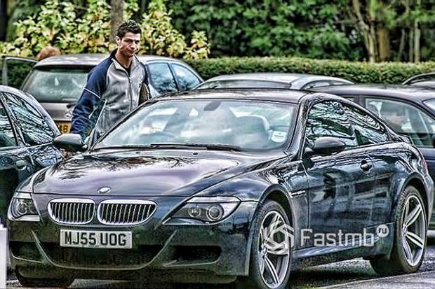 Автомобили Криштиану Роналду: BMW M6