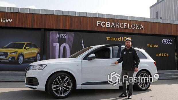 Автомобили Леонеля Месси: Audi Q7