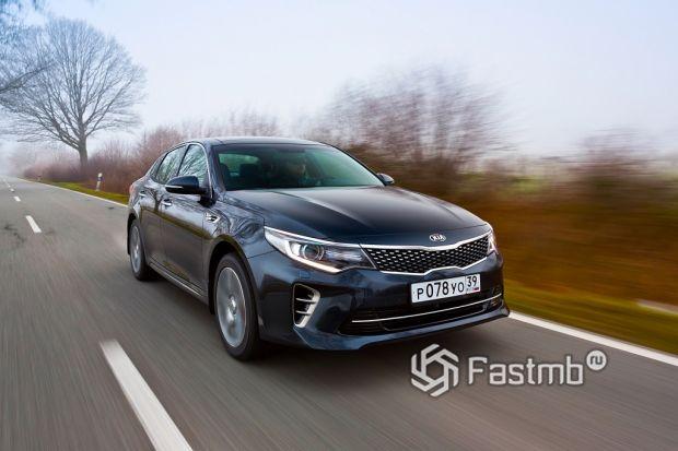 Ездовые качества Kia Optima и Subaru Legacy