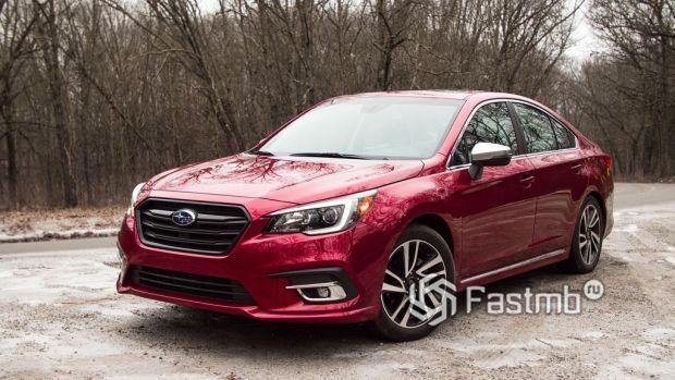 экстерьер Subaru Legacy