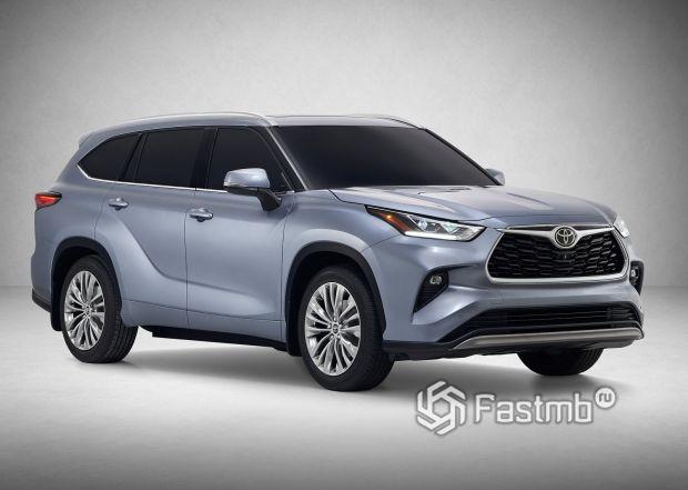 Новая Toyota Highlander 2020