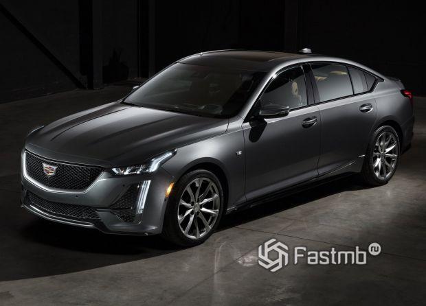 Новый Cadillac CT5 2020