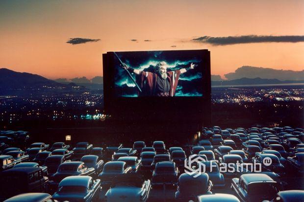 кинотеатр для машин