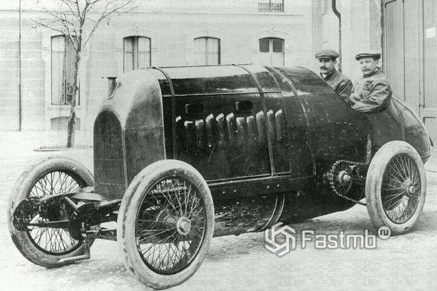 паровой Фиат 1911 года