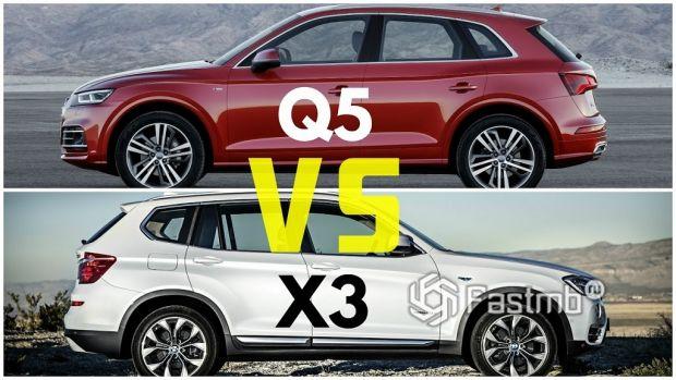 Audi Q5 против BMW X3 – что лучше?