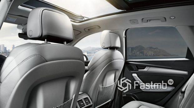 интерьер Audi Q5