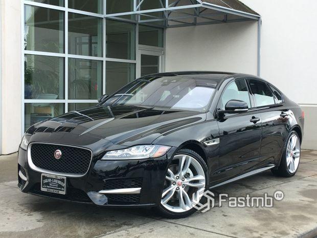 экстерьер Jaguar XF