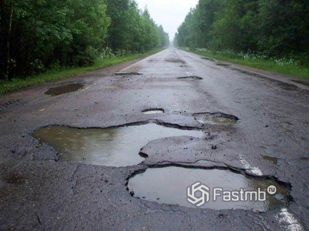 Украина: плохие дороги