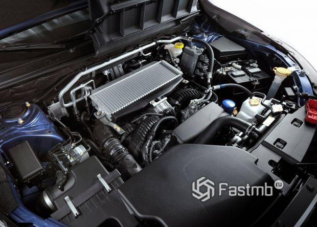 Турбированный бензиновый двигатель семейства FA