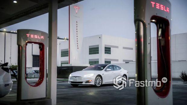 Станция зарядки Тесла