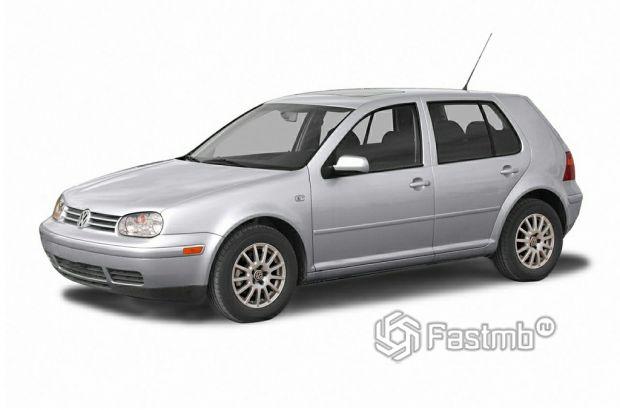 VW Golf 2004 года